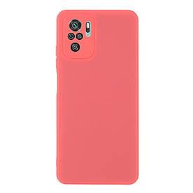 Силіконовий бампер для Xiaomi Redmi Note 10S, Soft Case, Червоний
