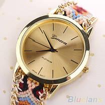 Женские кварцевые наручные часы в этническом стиле Jeneva Etnisch Pastell, фото 3