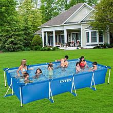 Збірний каркасний басейн для сім'ї Intex 28273 NP, 450*220*84 см