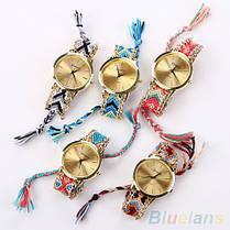 Женские наручные часы в этническом стиле Jeneva Etnisch Blau, фото 3