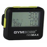 Інтервальний секундомір Gymboss Mini Max 25 інтервалів*99 раундів жовтий, фото 1