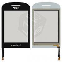 Touchscreen (сенсорный экран) для ZTE S550, оригинал (черный)