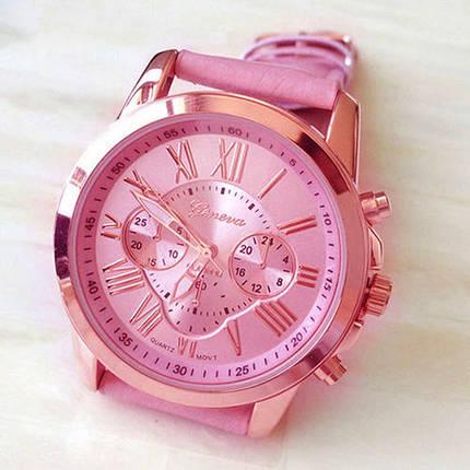 Женские кварцевые наручные часы Jeneva  Rosa Sovar, фото 2