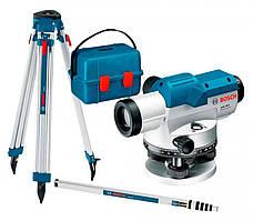 Нівелір оптичний х26 100м Bosch GOL 26 D + BT 160 + GR 500