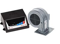 Комплект: Терморегулятор SP 05 LED KG Elektronik + Турбина для котлов