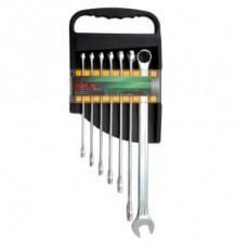 Набір ключів комбінованих супердлин. 7 шт. 10-19 GAAM0706, фото 2