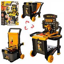 Детский игровой набор инструментов 008-928 чемодан-верстак