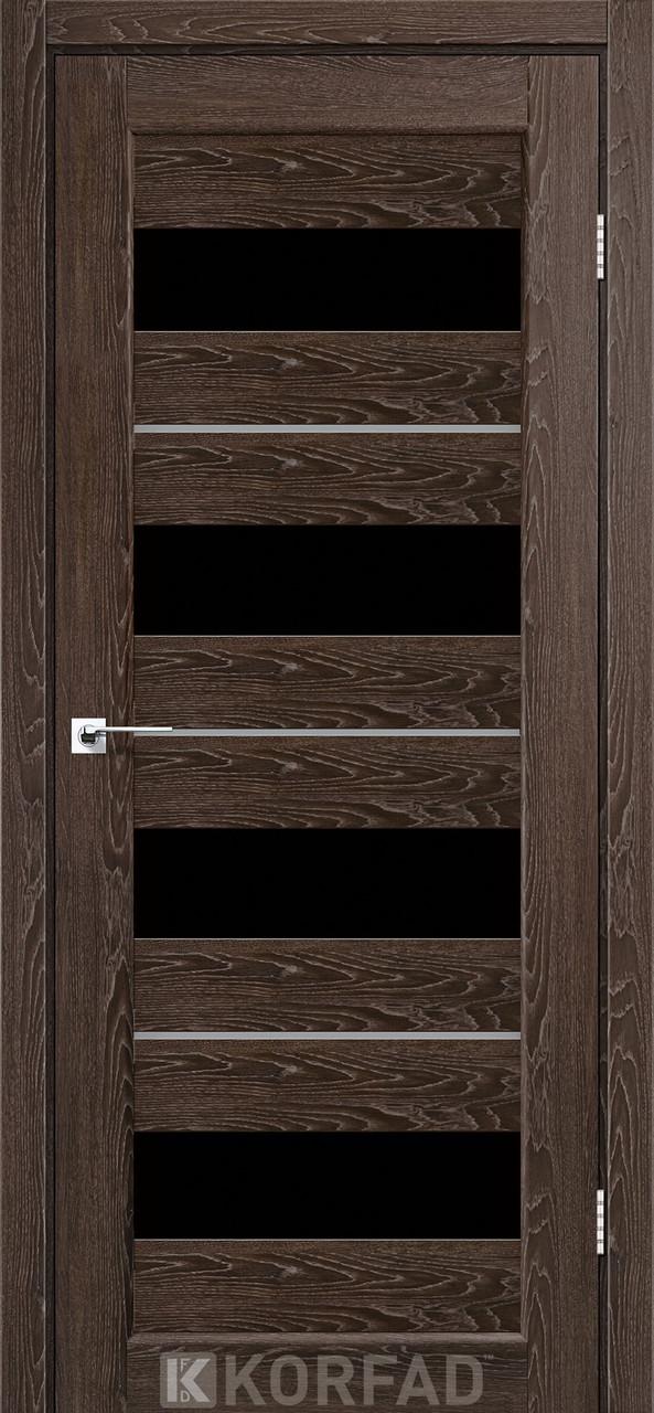 Двері Korfad PD-02 Дуб марсала BLK