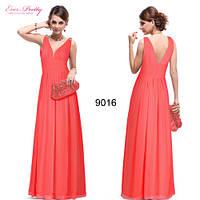 Платье в греческом стиле, коралл. Размер  XXXL