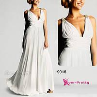 Платье в греческом стиле, белое.  L