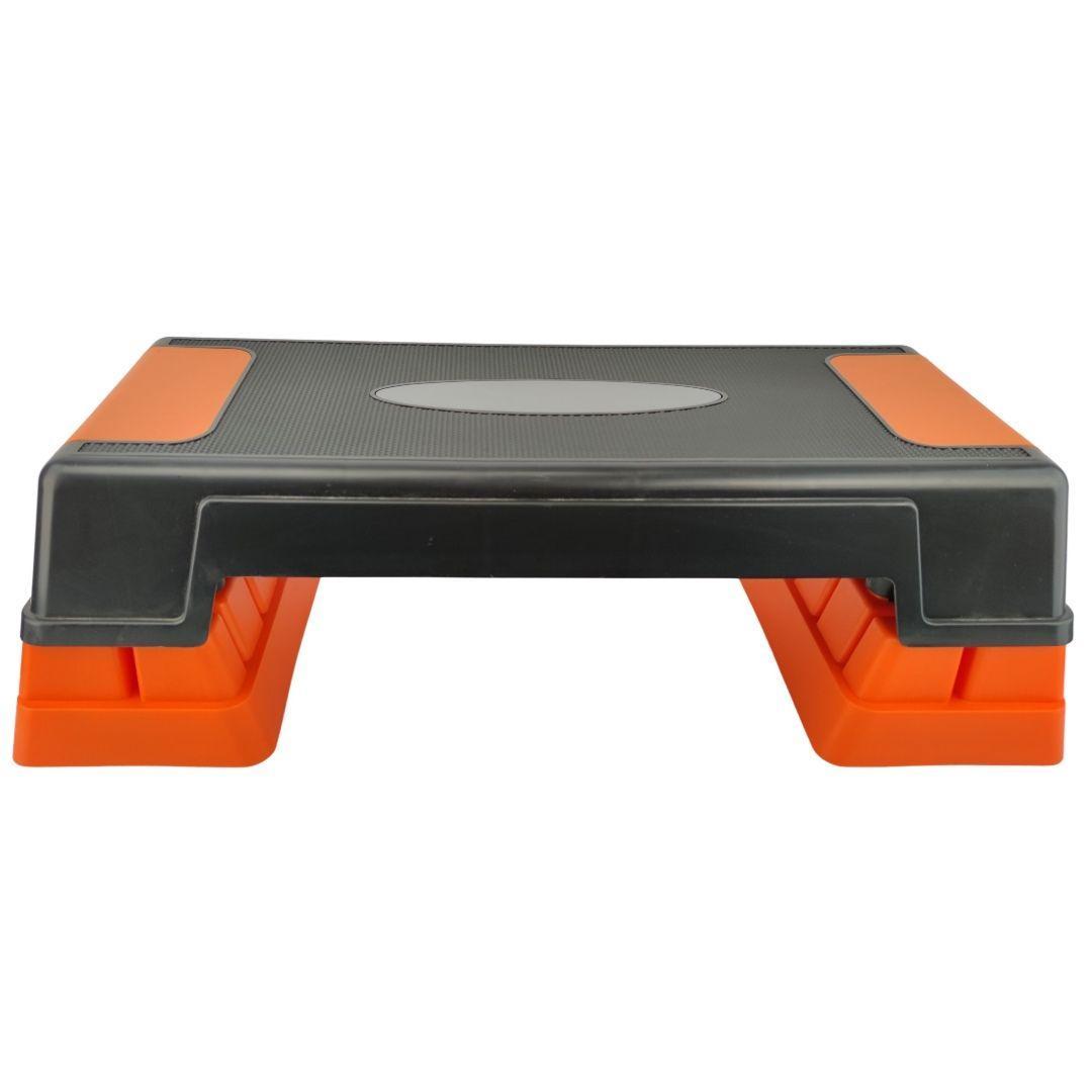 Степ-платформа LEXFIT оранжево-черная
