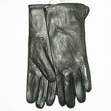 Женские кожаные зимние перчатки на меху кролика (мех искусственный) - F11-5