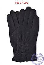 Жіночі кашемірові рукавички на махру - F26-2