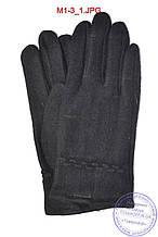 Чоловічі кашемірові рукавички без підкладки - M1-3