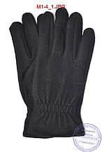Чоловічі кашемірові рукавички без підкладки - M1-4