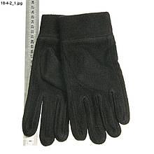 Чоловічі флісові рукавички - №16-4-2 Чорний