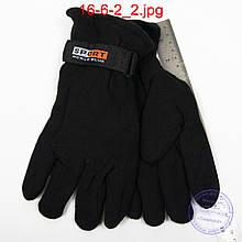 Чоловічі флісові подвійні рукавички - №16-6-2