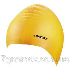 Шапочка для плавания силиконовая BECO 7390 2 желтая