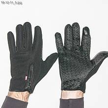 Чоловічі спортивні рукавички з нековзною долонькою і сенсорними пальцями- №18-12-11