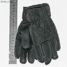 Детские болоньевые перчатки с противоскользящей ладошкой - №18-16-1