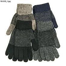 Подростковые детские перчатки с начесом от 15 лет - №18-5-55
