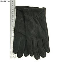 Чоловічі трикотажні рукавички з плюшевим утеплювачем - №18-4-10