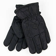Перчатки для мальчиков с антискользящей поверхностью 4-6 лет №19-16-1 черный