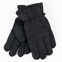 Рукавички для хлопчиків з антиковзаючою поверхнею 4-6 років №19-16-1 чорний