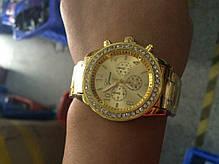 Кварцевые наручные часы Gold Strass, фото 3