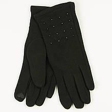 Трикотажні жіночі рукавички зимові (арт. 19-1-39V1 / 4) S (6.5)