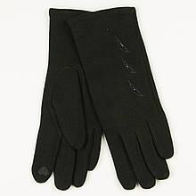 Трикотажні жіночі рукавички зимові (арт. 19-1-39V1 / 2) S (6.5)