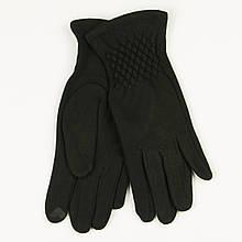 Трикотажні жіночі рукавички зимові (арт. 19-1-39V1 / 5) S (6.5)