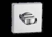Накладка дверная под WC T1 CP (полированный хром)