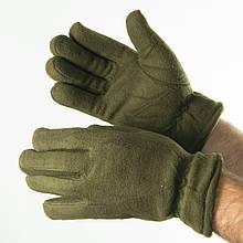 Чоловічі флісові рукавички (арт. 19-16-6) хакі
