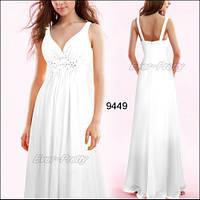 Вечернее платье на широких бретелях, четыре  цвета, большой размер