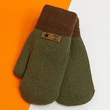 Зимові рукавиці для дівчаток від 12 років (арт. 20-7-98) хакі