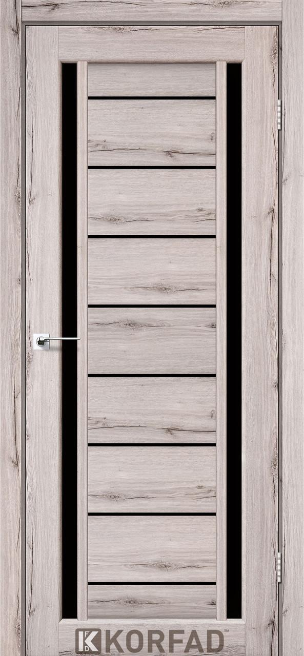 Двери Korfad VND-01 Дуб нордик BLK