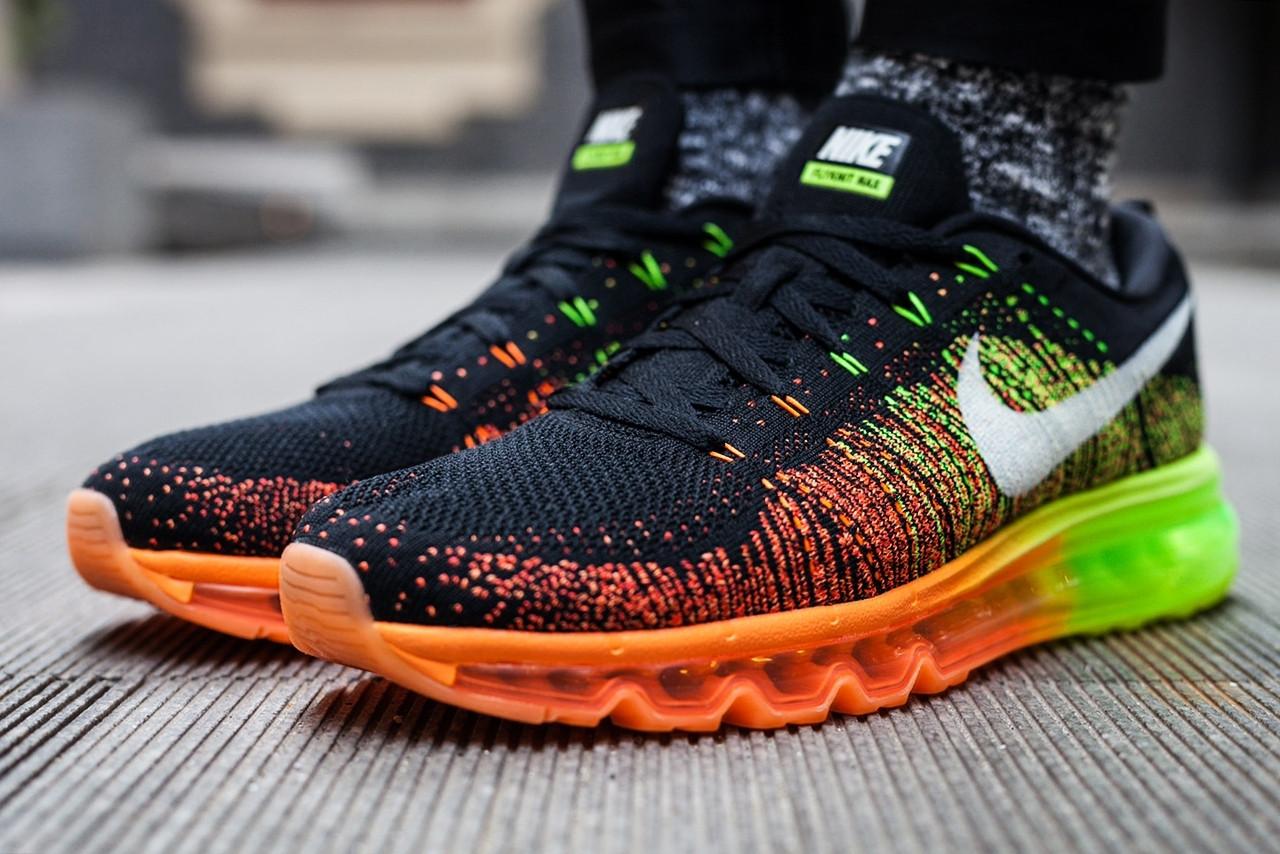 hot sale online 21a1d fda88 Nike Air Max Flyknit Black