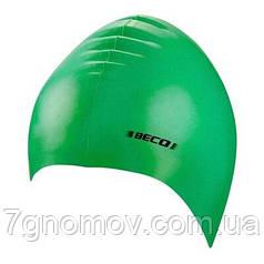 Шапочка для плавания силиконовая BECO 7390 8 зеленая