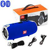 Портативна Bluetooth колонка JBL XTREME MINI c функцією speakerphone радіо синя + Подарунок, фото 6