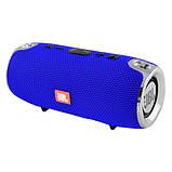 Портативна Bluetooth колонка JBL XTREME MINI c функцією speakerphone радіо синя + Подарунок, фото 7