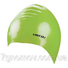 Шапочка для плавання силіконова BECO 7390 88 світло-зелена