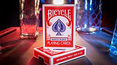 Трюковая колода GT Speedreader Marked Deck Standard Version (Bicycle 809 Mandolin Red) plus Online effect, фото 3