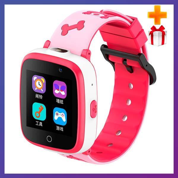Дитячі смарт годинник Smart Baby watch G3 камера ігрові години сім карта рожеві + Подарунок