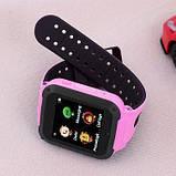 Дитячі смарт годинник Smart Baby watch G3 камера ігрові години сім карта рожеві + Подарунок, фото 2