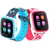 Дитячі смарт годинник Smart Baby watch G3 камера ігрові години сім карта рожеві + Подарунок, фото 4