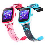 Дитячі смарт годинник Smart Baby watch G3 камера ігрові години сім карта рожеві + Подарунок, фото 5