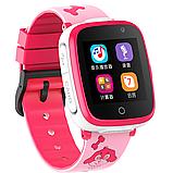 Дитячі смарт годинник Smart Baby watch G3 камера ігрові години сім карта рожеві + Подарунок, фото 6