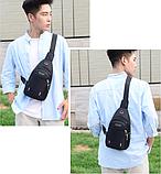 Рюкзак-бананка однолямочный рюкзак Jingpin, фото 9