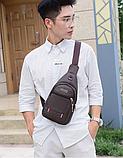 Рюкзак-бананка однолямочный рюкзак Jingpin, фото 2